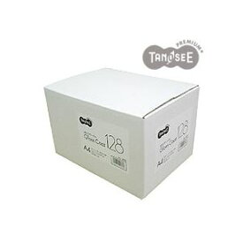 (まとめ)TANOSEE αエコグロスコート128g A4 500枚入×3冊/箱