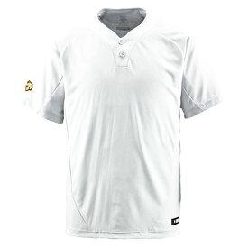 スポーツ・アウトドア 野球・ソフトボール ウェア 関連 デサント(DESCENTE) ベースボールシャツ(2ボタン) (野球) DB201 Sホワイト S