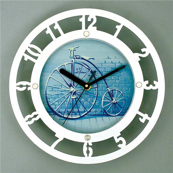 便利 日用品 (まとめ買い)メタリック時計デザインセット 【×5セット】