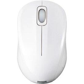 AV・デジモノ (まとめ) サンワサプライ 静音ワイヤレスブルーLEDマウス 2ボタン ホワイト MA-WBL32W 1個 【×2セット】