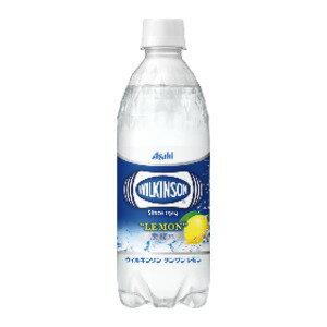 炭酸飲料 関連商品 【まとめ買い】アサヒ ウィルキンソン タンサン レモン ペットボトル 500ml×24本(1ケース)