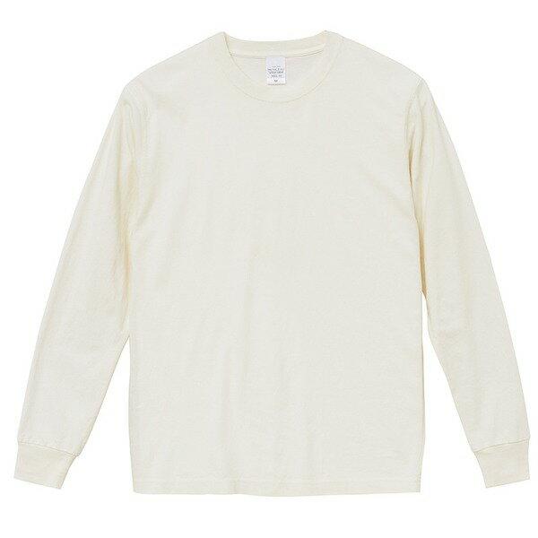 トップス 関連商品 ピグメントダイロングスリーブ5.6オンス長袖Tシャツ ビンテージオフホワイト L