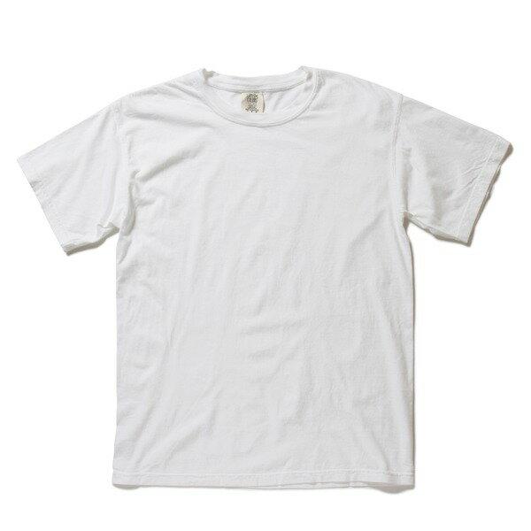 半袖Tシャツ 関連商品 50回ウォツシュ加工ガーメント後染め6.2オンスヘビーウェイトTシャツ ホワイト L