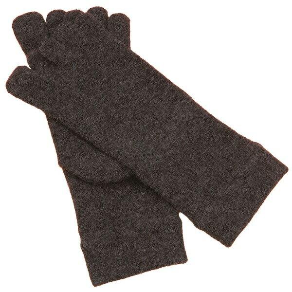 靴下・レッグウォーマー 関連商品 アンゴラ5本指ソックス同色2足組(チャコールグレー)