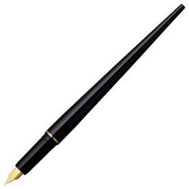 (まとめ) プラチナ デスクペン万年筆 ブラック(黒インク) DPQ-700A#1 1本 【×5セット】