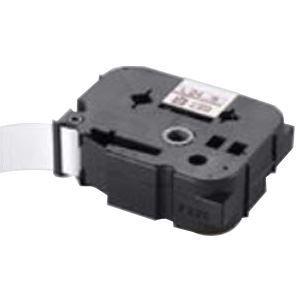 スマートフォン・携帯電話用アクセサリー スキンシール 関連 (業務用30セット) マックス 強粘着テープ LM-L524BWK 白に黒文字 24mm 【×30セット】