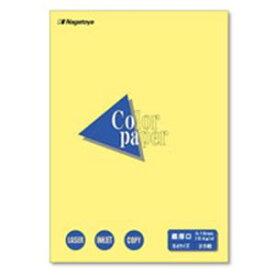 OA・プリンタ用紙 関連商品 (業務用100セット) Nagatoya カラーペーパー/コピー用紙 【B4/最厚口 25枚】 両面印刷対応 クリーム