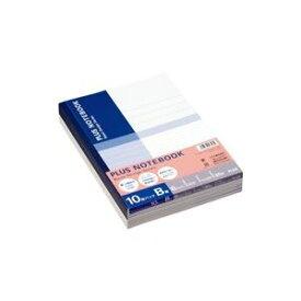 (業務用50セット) プラス ノートブックセミB5B罫10冊P NO-003BJ-10P 【×50セット】