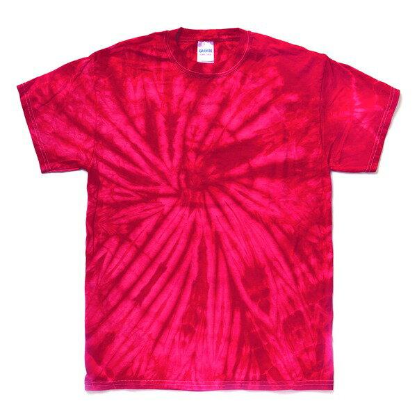半袖Tシャツ 関連商品 スパイダータイダイTシャツ スパイダーレッド M