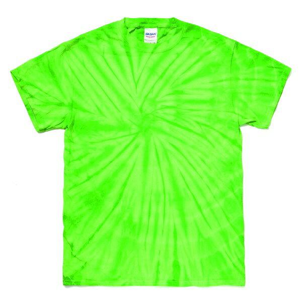 半袖Tシャツ 関連商品 スパイダータイダイTシャツ スパイダーライム L