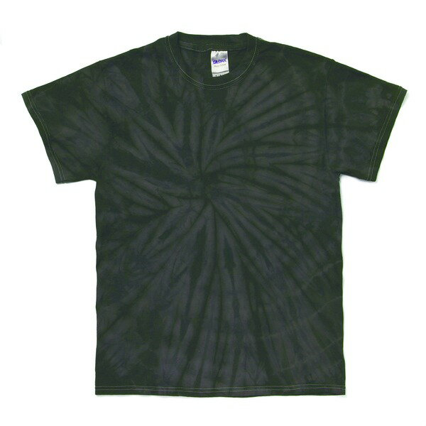 トップス 関連商品 スパイダータイダイTシャツ スパイダーブラック XL