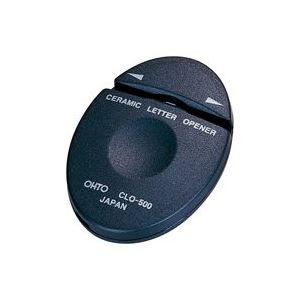 文具・オフィス用品 (業務用100セット) オート セラミックレターオープナーL&R CLO-500 【×100セット】