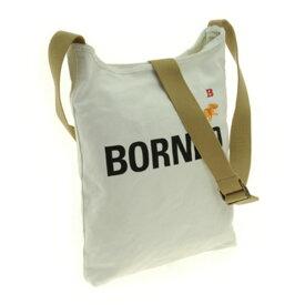 スポーツ・アウトドア アウトドア バッグ ショルダーバッグ 関連 ファッション関連商品 HUNTING WORLD (ハンティングワールド) 7160-868 BORNEO/WHT ショルダーバッグ
