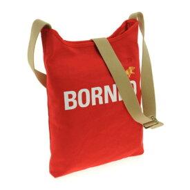 スポーツ・アウトドア アウトドア バッグ ショルダーバッグ 関連 ファッション関連商品 HUNTING WORLD (ハンティングワールド) 7160-869 BORNEO/RED ショルダーバッグ