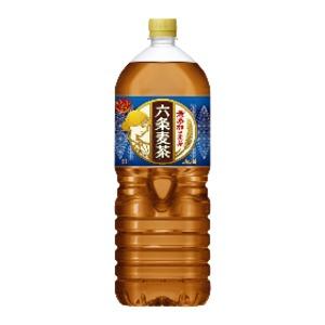 お茶・紅茶 関連商品 【まとめ買い】アサヒ 六条麦茶 PET 2.0L×6本(1ケース)