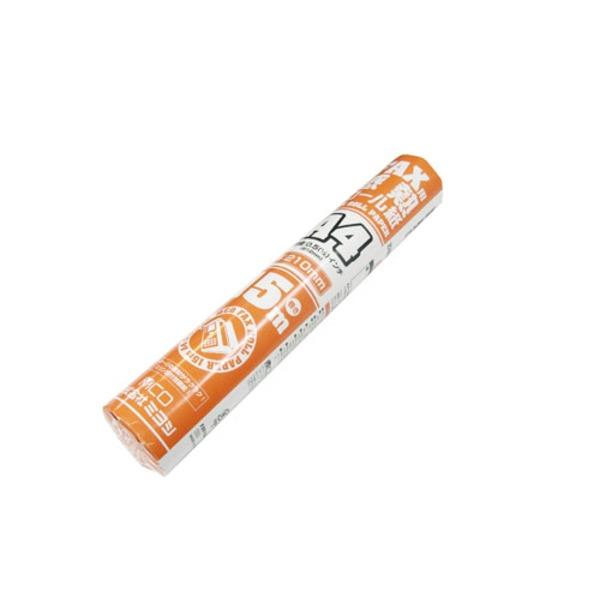 AV・デジモノ ミヨシ(MCO) FAX用感熱ロール紙(A4サイズ/0.5インチ) 15m巻き10本 FXR15AH-1-10P【10本セット】