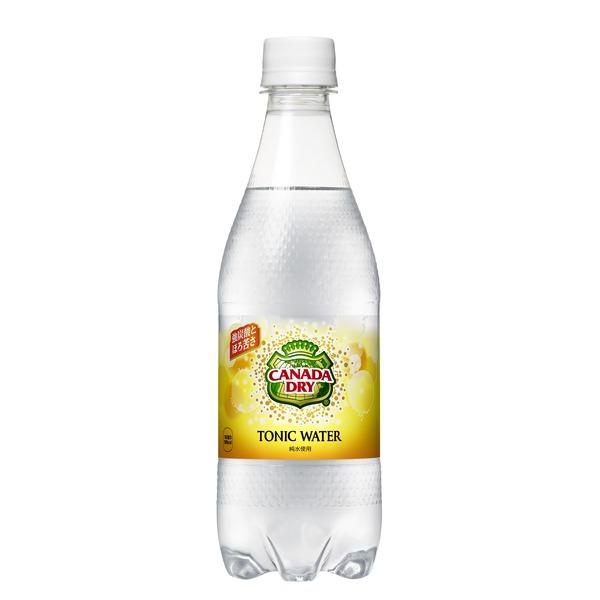 炭酸飲料 関連商品 【まとめ買い】コカ・コーラ カナダドライ トニックウォーター ペットボトル 500ml×48本(24本×2ケース)