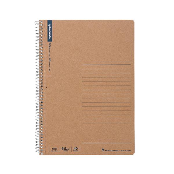 ノート・紙製品関連 (まとめ) マルマン スパイラルノート A56.5mm罫 40枚 N237 1冊 【×30セット】