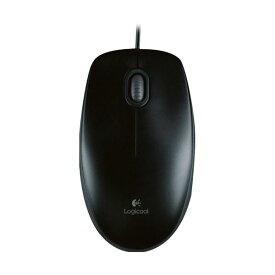 パソコン・周辺機器関連 (まとめ)ロジクール マウス M100r ブラックM100rBK 1個【×5セット】