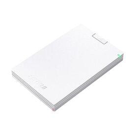 生活 雑貨 通販 (まとめ)バッファロー MiniStationUSB3.1(Gen.1)対応 ポータブルHDD 1TB ホワイト HD-PCG1.0U3-BWA 1台【×3セット】