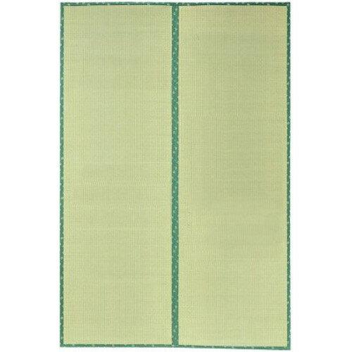 い草 敷物 お部屋をナチュラルに演出 和風 オシャレ い草上敷 『F竹(たけ)』 裏ウレタン付き 477×382cm