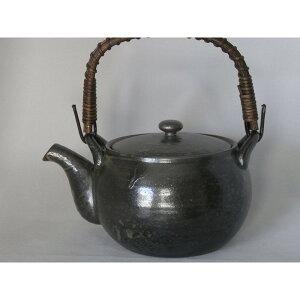 急須 陶器 軽くて使いやすい形 和食器 有田焼 黒釉 7合土瓶