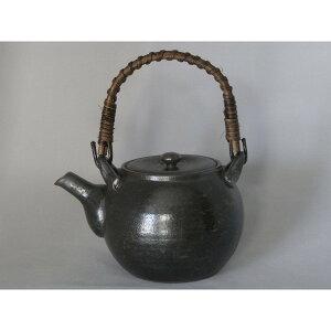 急須 陶器 軽くて使いやすい形 素敵な 有田焼 黒釉 5合土瓶