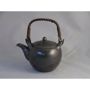 土瓶 陶器 軽くて使いやすい形 キッチン雑貨 有田焼 黒釉 3合土瓶
