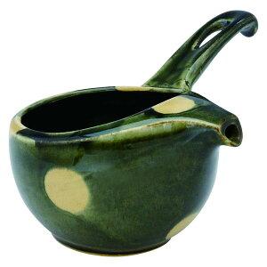 急須 和食器 紅茶 などのフレーバーティーにも キッチン 有田焼 織部水玉 楽らくオープン急須
