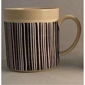 マグカップ 陶器 キッチン 日本製 有田焼 ゼブラ スタックマグ 大 (黒)
