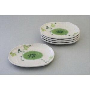 和食器 大皿 盛り皿 山ぶどう 小皿揃(5枚セット) 取り皿 丸皿