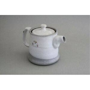 湯呑み 和食器 紅茶 福丸 ふくろう ポット急須 金網茶こし付(小)400ml
