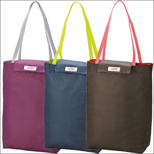 便利雑貨 THERMOS(サーモス) 保冷ショッピングバッグ 約12L REG-012-PL / REG-012-BW / REG-012-NVY ブラウン