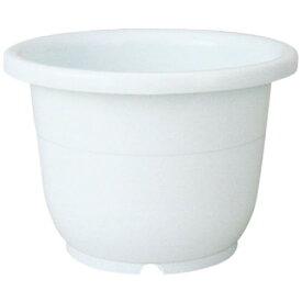 ガーデニング鉢 容量/36L 憧れのお庭に! 輪鉢18号 ホワイト(W)
