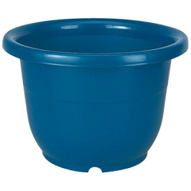 植木鉢 大型 容量/36L 人気アイテム 輪鉢18号 ブルー(B)
