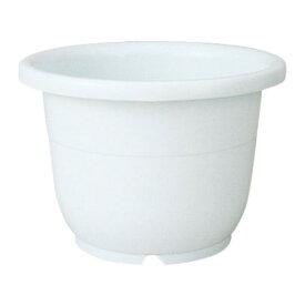 ガーデニング鉢 容量/21L 人気商品 輪鉢 15号 ホワイト(W)