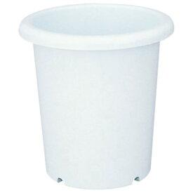 植木鉢 おしゃれ 深さがあるので、背丈のある植物にぴったりです。 人気商品 長鉢 12号 ホワイト(W)