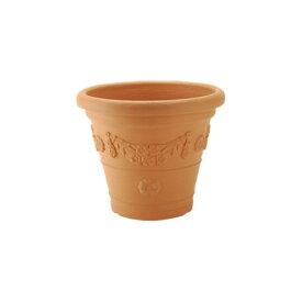 ガーデニング 植木鉢 容量/11L 庭づくり アンティコ鉢33型 ブラウン(BR)