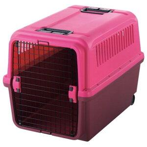 犬用 ペットキャリー バッグ  ワンタッチ で扉の取り外しOK 人気 キャンピングキャリー XL ピンク
