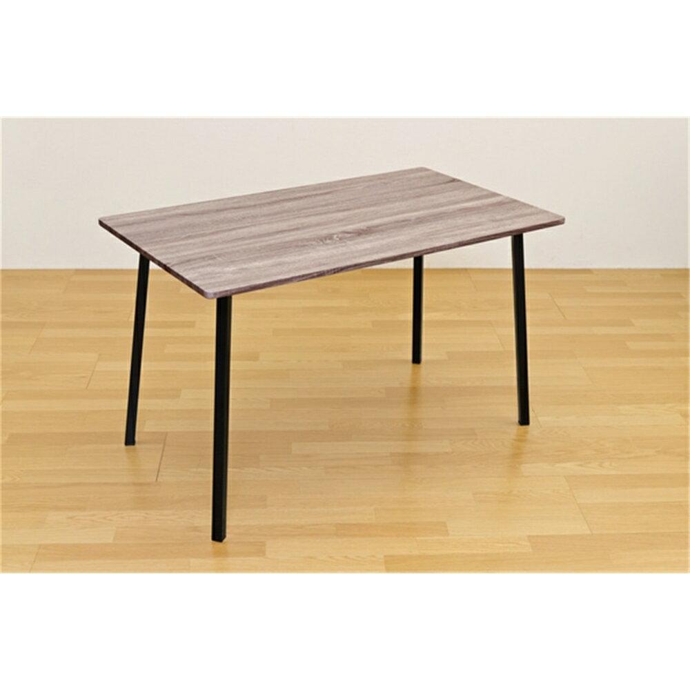 食卓テーブル リビングテーブル Dining table ダイニングテーブル 120x70cm カラー:ダークブラウン
