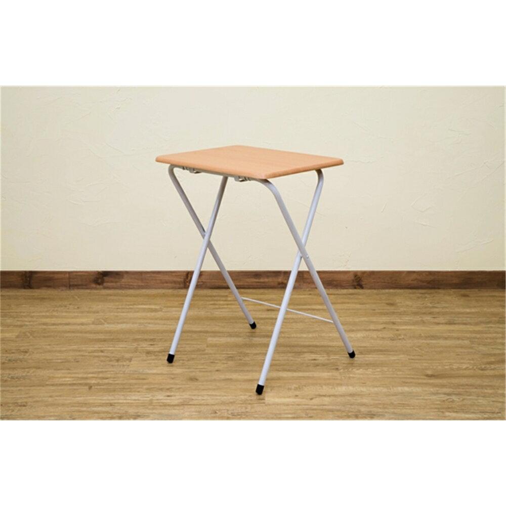 テーブル table 折りたたみ 折りたたみミニテーブル ハイタイプ カラー:ビーチ