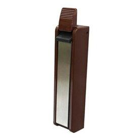 扉 ストッパー 玄関 カンタン装着 ドアストッパーポルテ ブリスター ブラウン