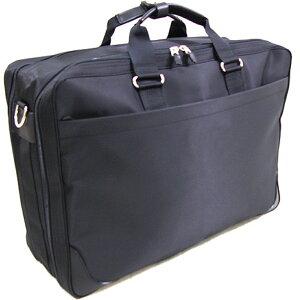 ナイロンガーメントケース ハンガー付 ブラック(黒) 日本製ハンガー ボストン バッグ 鞄 バック 冠婚葬祭 トラベル バッグ