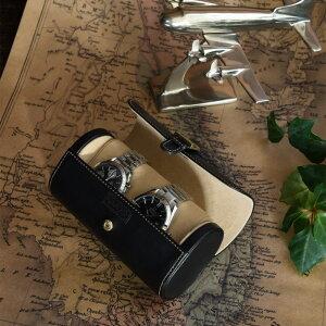 時計ケース 収納 ケース 男性 への贈り物に ウォッチケース 2本用