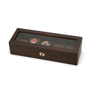 時計ケース 収納ボックス 大切な時計コレクションを整理して、収納 家具 木製ウォッチケース5本用
