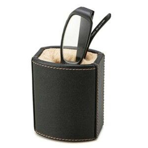メガネスタンド/メガネ置き シック なスタイルで決める インテリア、雑貨 メガネスタンド ブラック