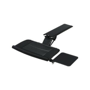 生活 雑貨 通販 エルゴノミクスキーボードスライダー 角度・高さ調整可能 マウステーブル付 CR−KB2