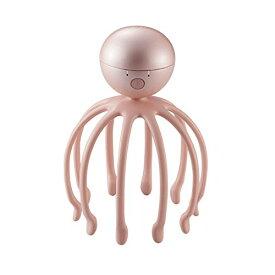 電マ バイブレーター マッサージ 男性 女性 10本の3Dアーム コードレス電動 ヘッドスパ ピンク