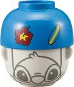 ジョーク&おもしろ食器【DISNEY】ディズニー 汁椀・茶碗セット ミニ/スティッチ