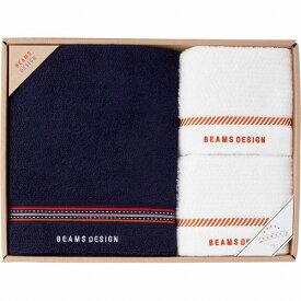 BEAMS DESIGN(ラインドット)バスタオル&フェイスタオル2P51-3029500